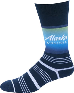 Alaska Airlines Strideline Business Dress Socks