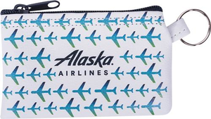 Alaska Airlines Vegan Leather Penny Keyring