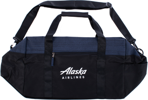 Alaska Airlines Wordmark Duffel with Rear Strap