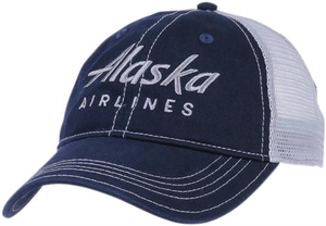 Alaska Airlines Trucker Hat