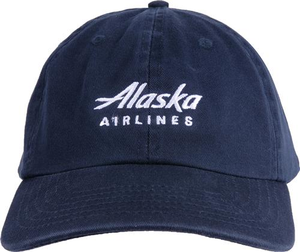 Alaska Airlines Wordmark Cap