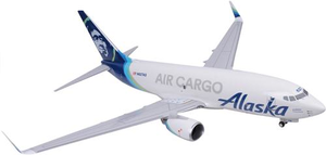 Alaska Airlines Model 1/100 scale Skymarks Supreme 737-700 Air Cargo