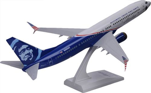 Alaska Airlines Model 1/130 scale Skymarks 737-900 Honoring Those Who Serve