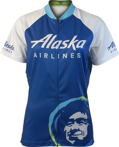 Alaska Airlines Bike Shirt Ladies