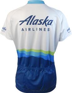 Women's Alaska Airlines Bike Shirt
