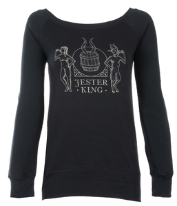 Jester King Women's Wideneck Sweater