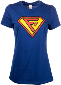 Save the Day with F# Women's Tee