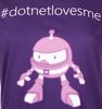 #dotnetlovesme Women's Tee image 3