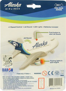 Alaska Airlines Pullback w/ Light and Sounds
