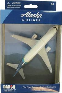 Alaska Airlines Diecast Toy Plane