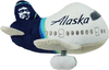 Alaska Airlines Plush Airplane w/ Sound image 1