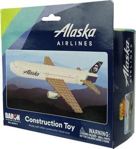 Alaska Airlines 55 piece Construction Toy