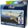 Alaska Airlines 55 piece Construction Toy  image 1