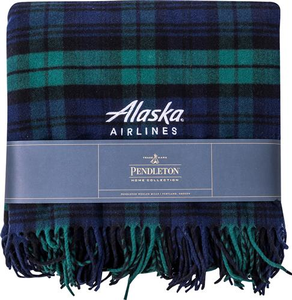 Alaska Airlines Pendleton Blanket