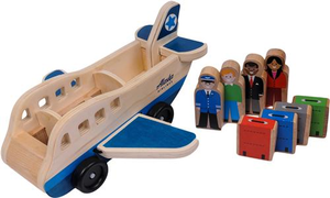 Melissa and Doug Alaska Airlines Wooden Airplane