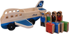 Melissa and Doug Alaska Airlines Wooden Airplane image 1