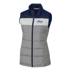 Alaska Airlines Ladies Insulated Packable Vest