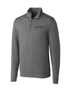Horizon Air Men's Cutter and Buck Shoreline Half Zip