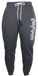 """Keep Going"" jogger pants"