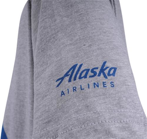 Alaska Airlines T-shirt Youth Youth Aura Plane