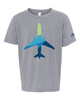 Alaska Airlines T-shirt Youth Youth Aura Plane image 1