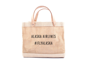 Alaska Airlines Apolis Lunch Bag