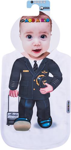 Alaska Airlines Pilot Uniform Bib