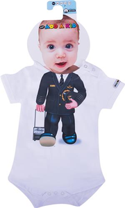 Infant Pilot Uniform Onesie