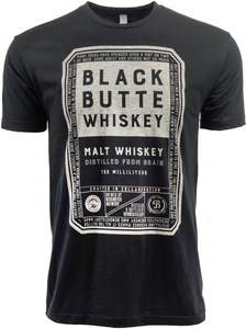Beer Logo T-Shirt: Black Butte Whiskey