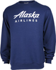 Alaska Airlines Sweatshirt Unisex Crew image 1