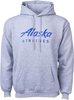 Alaska Airlines Sweatshirt Unisex Hooded image 1