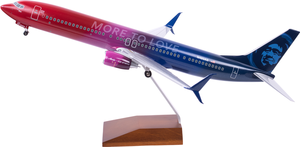 Alaska Airlines Model 1/100 scale Skymarks Supreme 737-900ER More to Love
