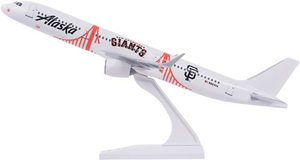 Skymarks Snap Together Airbus A321 neo 1/150 Scale San Francisco Giants