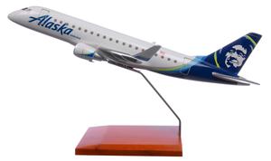 Alaska Airlines Model 1/72 scale E175 Horizon Embraer