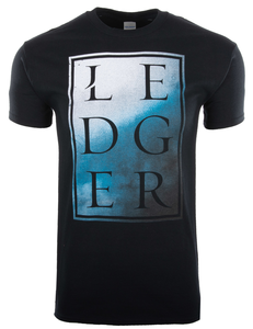 Ledger Text Smoke Tee