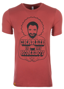 Charlie is My Homeboy Tee