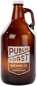 Public Coast Brewing Cannon Beach Growler w/Lid