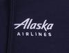 Alaska Airlines Sweatshirt Unisex Hooded Full Zip image 3