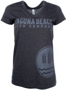 Women's Laguna Beach Beer V-Neck Tee