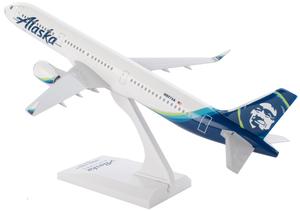 Alaska Airlines Model 1/150 scale Skymarks A321 Standard Livery
