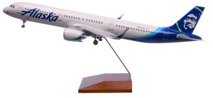 Alaska Airlines Model 1/100 scale Skymarks Supreme A321 Standard Livery