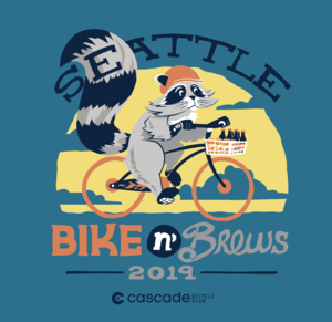 Bike N Brews 2019 Unisex T-Shirt