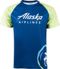 Alaska Airlines Running Shirt Mens Short Sleeve image 1
