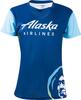 Alaska Airlines Running Shirt Ladies Short Sleeve image 1