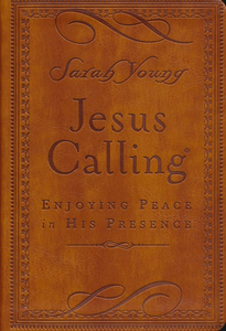Jesus Calling Deluxe Brown - Sarah Young