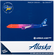Alaska Airlines A321 Neo More To Love 1/400 Model  image 2
