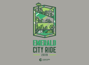 Emerald City Ride 2019 Unisex T-Shirt