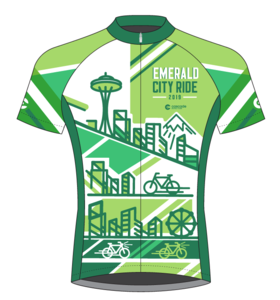 Emerald City Ride 2019 Men's Jersey