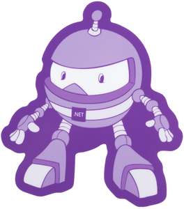 Dotnet-bot Sticker - Bundle of 10