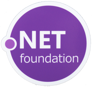 .NET Foundation Logo Sticker - Bundle of 25
